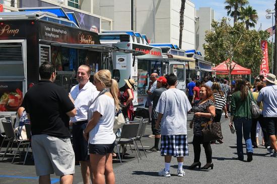 Food Trucks in Downtown Redlands