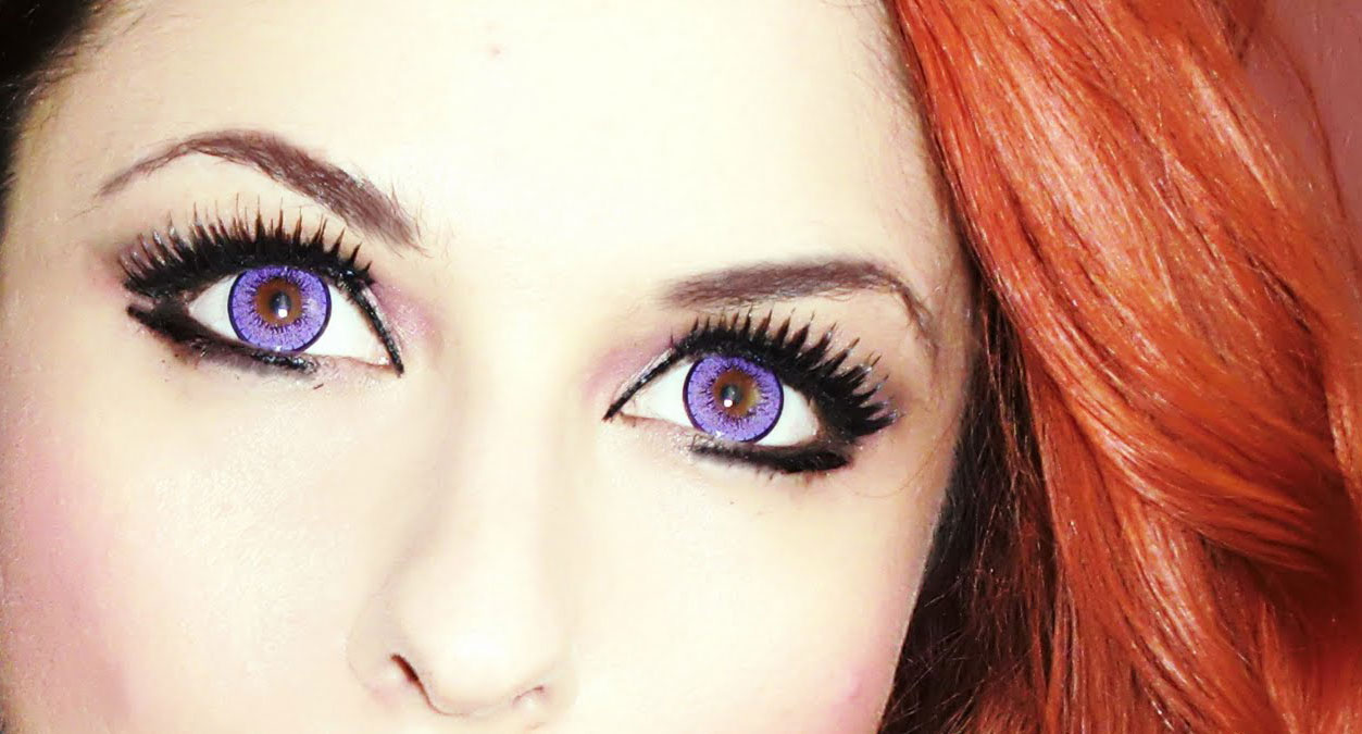 Colored And Crazy Eye Contact lenses | Sterling Company ...