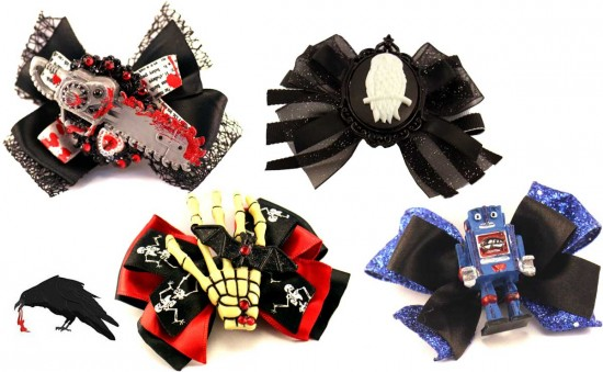 Blackbird Bows - Original Custom made hair clips and bows.